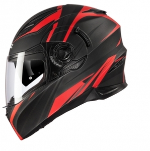 HONZ F06 FULL FACE HELMET (FUSION RED_무광)