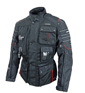 Motorrad-2 Mesh Type(Black/Red)