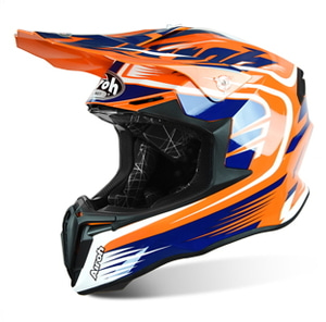AIROH TWIST MIX ORANGE GLOSS HELMET