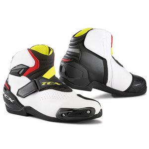 TCX ROADSTER 2 AIR BOOTS (BLACK/WHITE/RED)